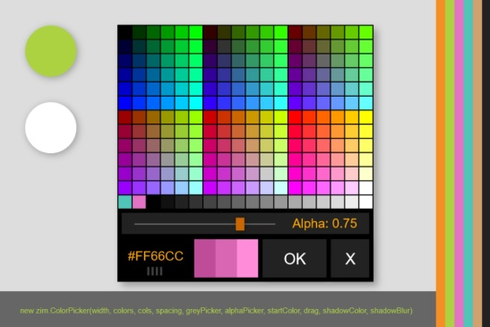 ZIM Color Picker